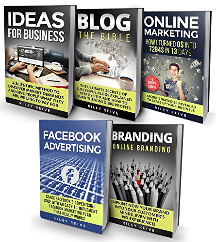 Digital Marketing: The Bible – 5 Manuscripts – Business Ideas, Branding, Blog, Online Marketing, Facebook Advertising (The Most Comprehensive Course Which Cover All Areas Of Digital Marketing 2017)